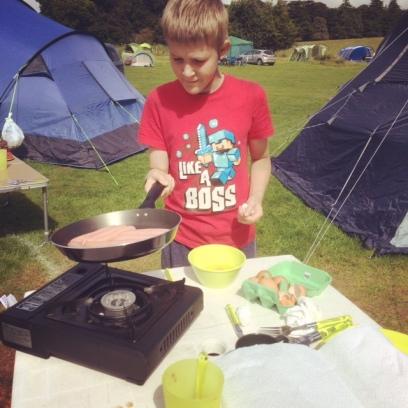 2016 camp ethan sausages